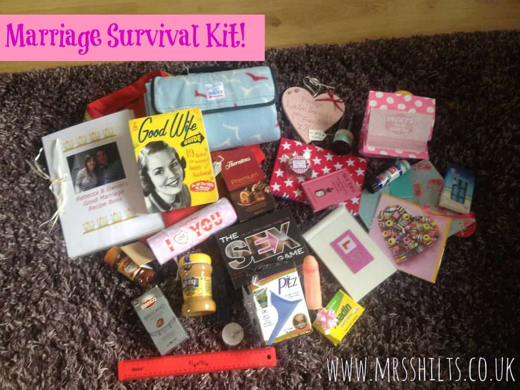Gag Wedding Gifts For Couples: Life According To MrsShilts