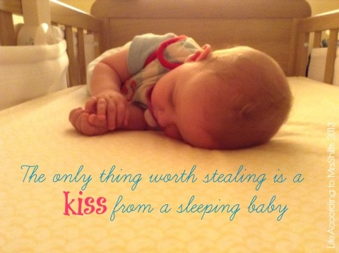 baby asleep quote