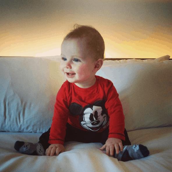 babyshilts little mr 33 weeks old