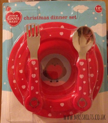 Tesco Loves Baby Christmas Dinner Set