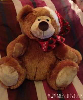 clintons plush bear