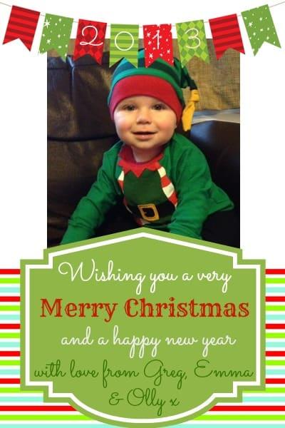 olly christmas card