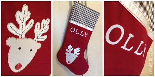 stocking collage