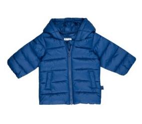 blue benetton coat
