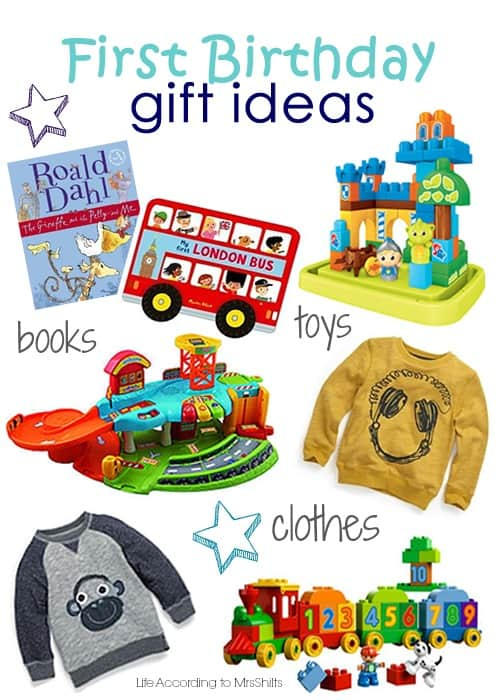 Life According To Mrsshilts First Birthday Gift Ideas