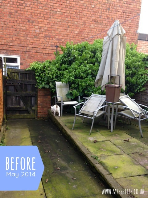 Life according to mrsshilts small back garden makeover for Garden makeover
