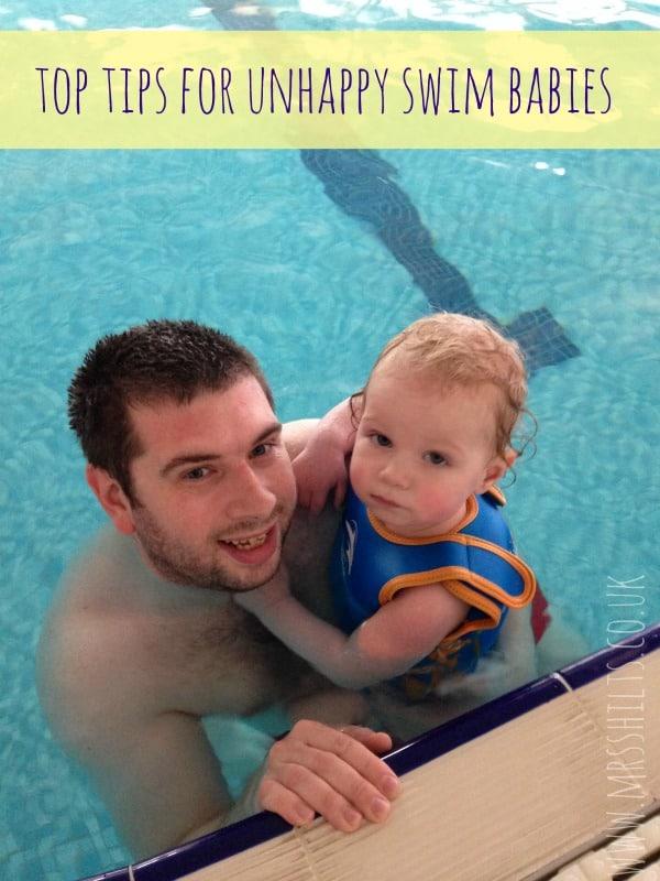 unhappy swim babies