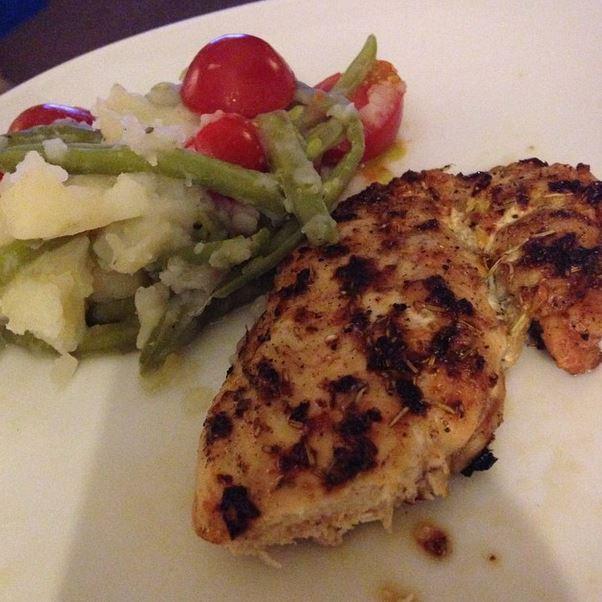 lemon and garlic chicken