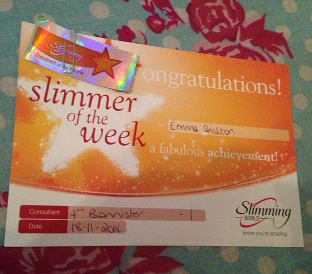 Slimmer of the week