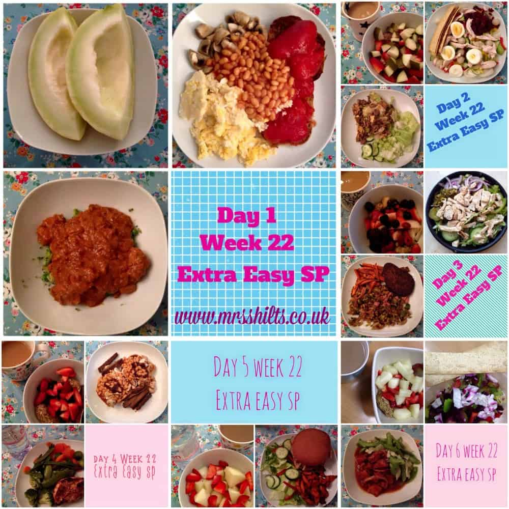 Life according to mrsshilts my week on the sw extra easy sp plan 2015 life according to Slimming world meal ideas