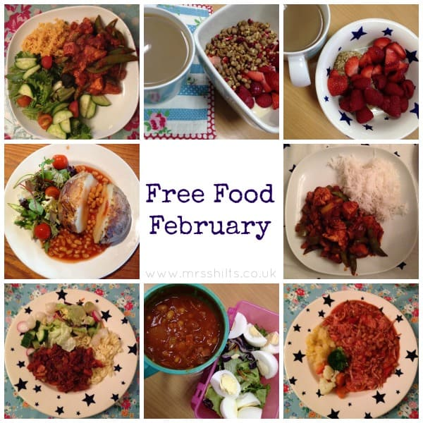 Life according to mrsshilts it 39 s free food february life according to mrsshilts I love slimming world