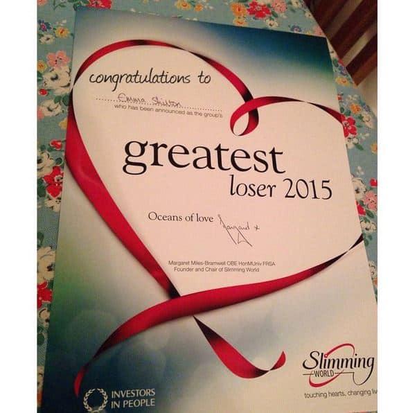 Greatest Loser cert