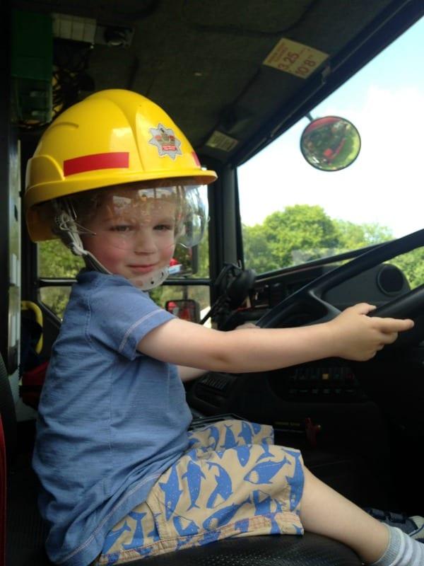 Little Mr Fireman