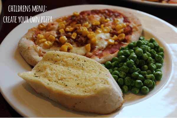 Beefeater childrens pizza