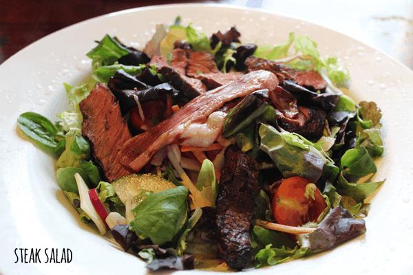 Beefeater steak salad