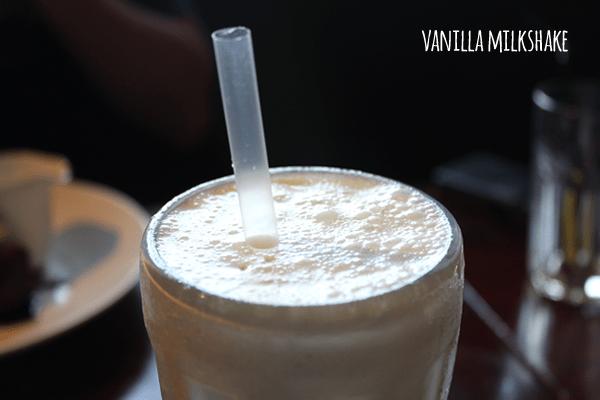 Beefeater milkshake