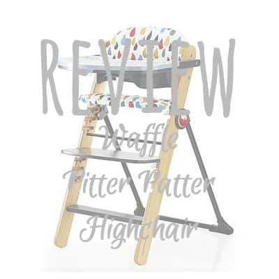 Waffle Pitter Patter Highchair