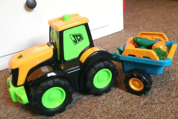 My First JCB Farm Fun Tractor Tim