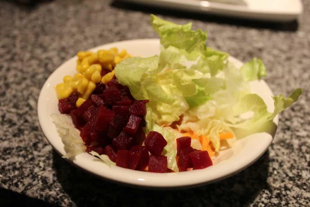 Harvester unlimited salad