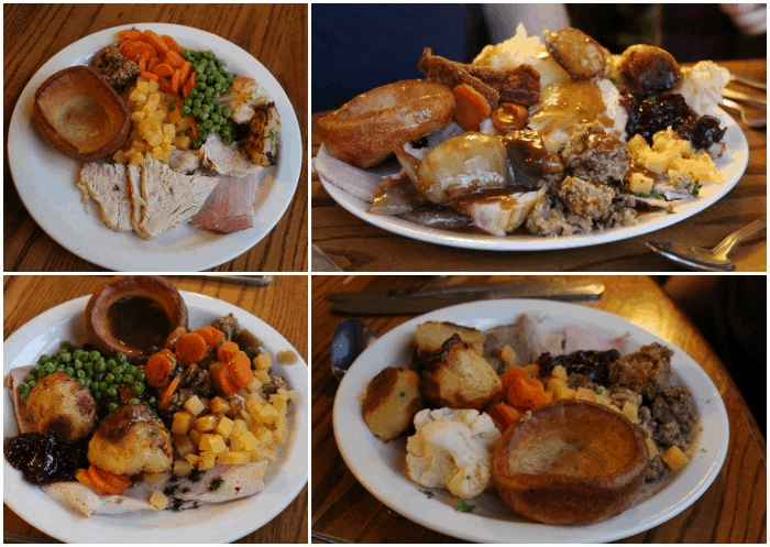 Main course carvery