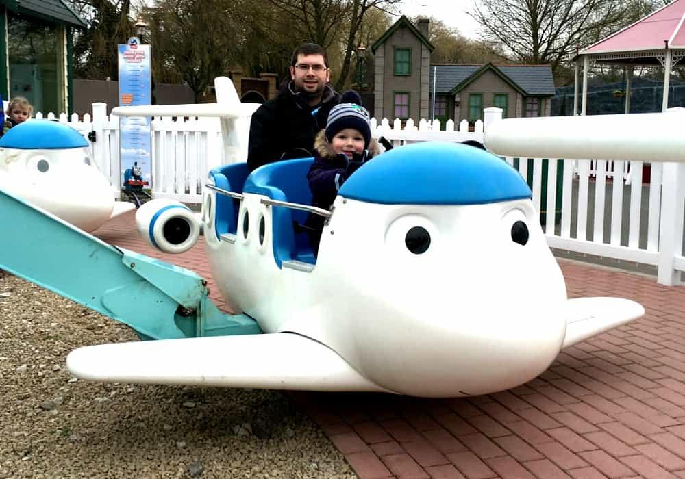 Jeremy's Flying Academy Thomas Land