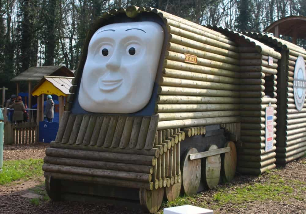 Spencers outdoor play Thomas Land