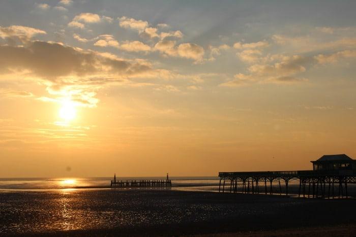 St Annes Pier Beach