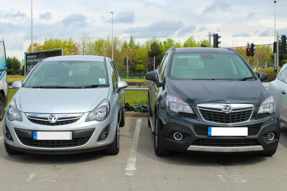 Vauxhall Corsa versus Vauxhall Mokka