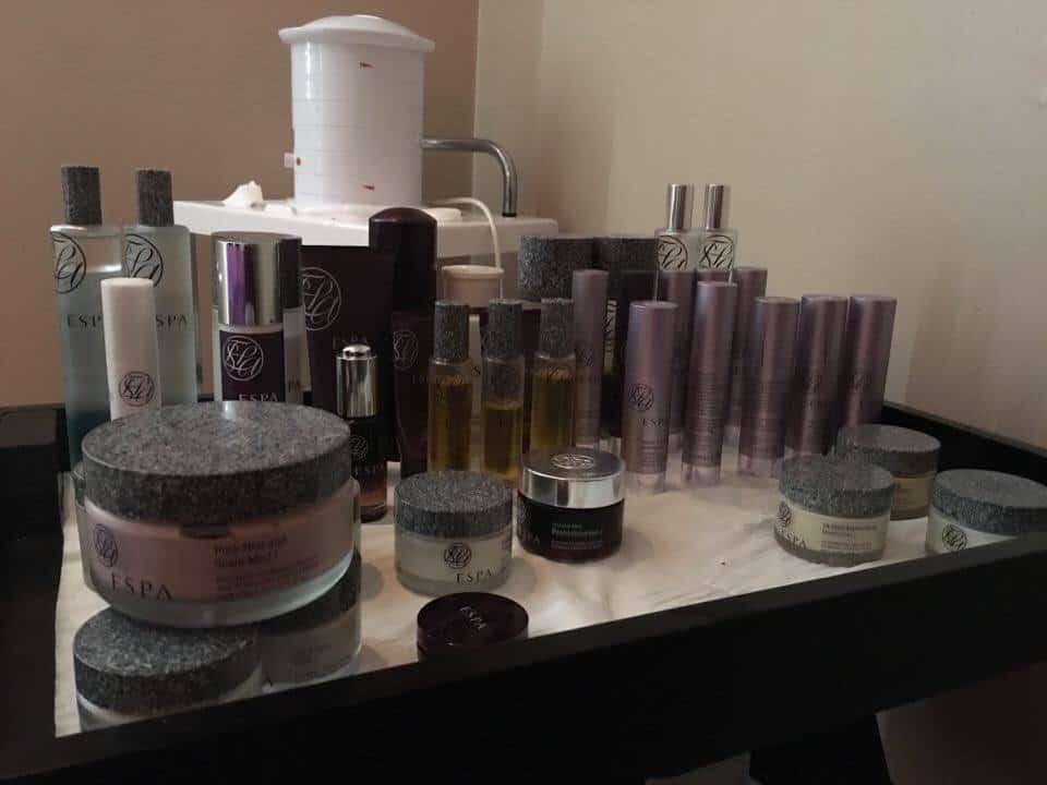 ESPA facial spa treatment products