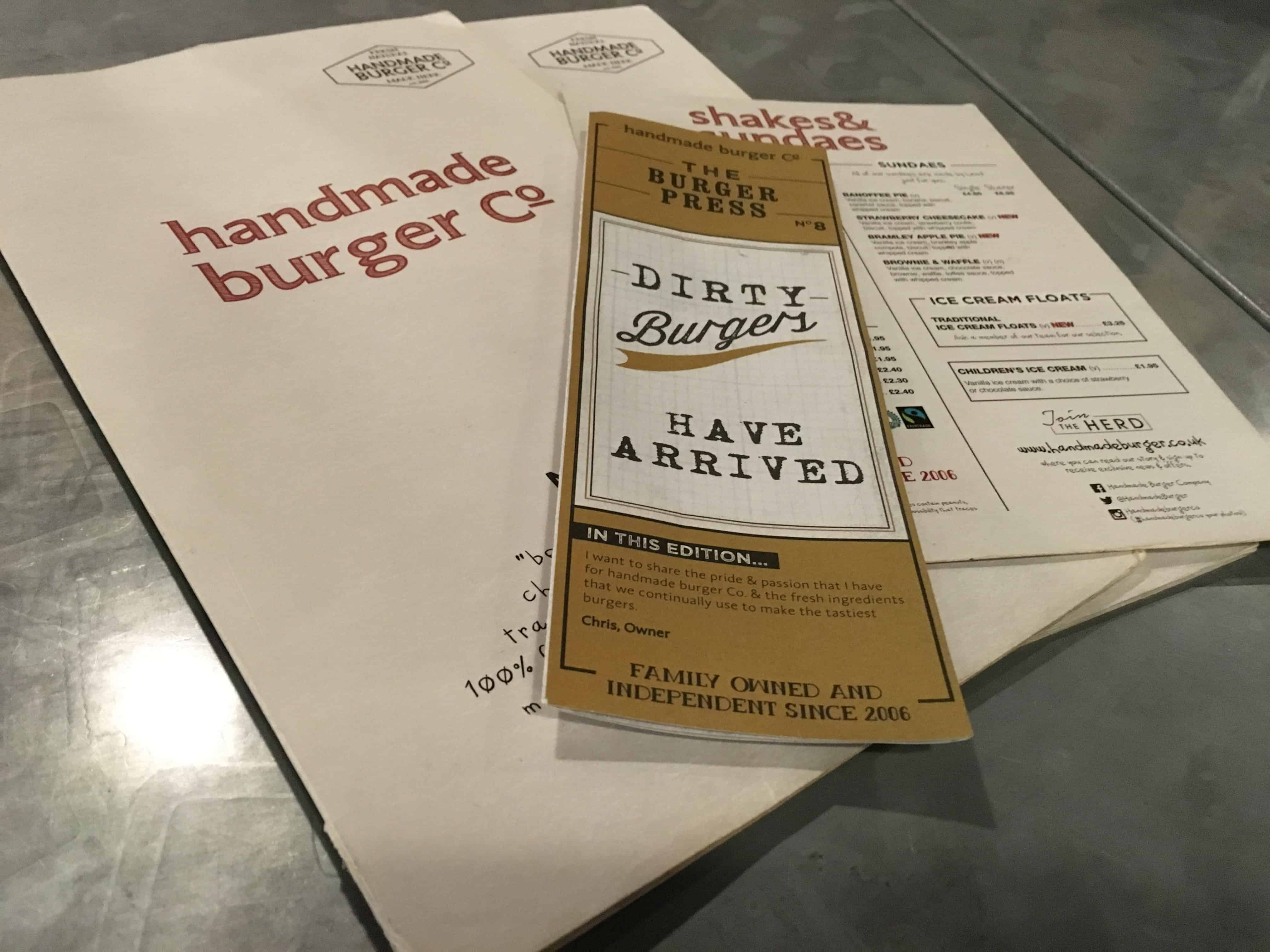 Handmade Burger Co. Grand Central Birmingham