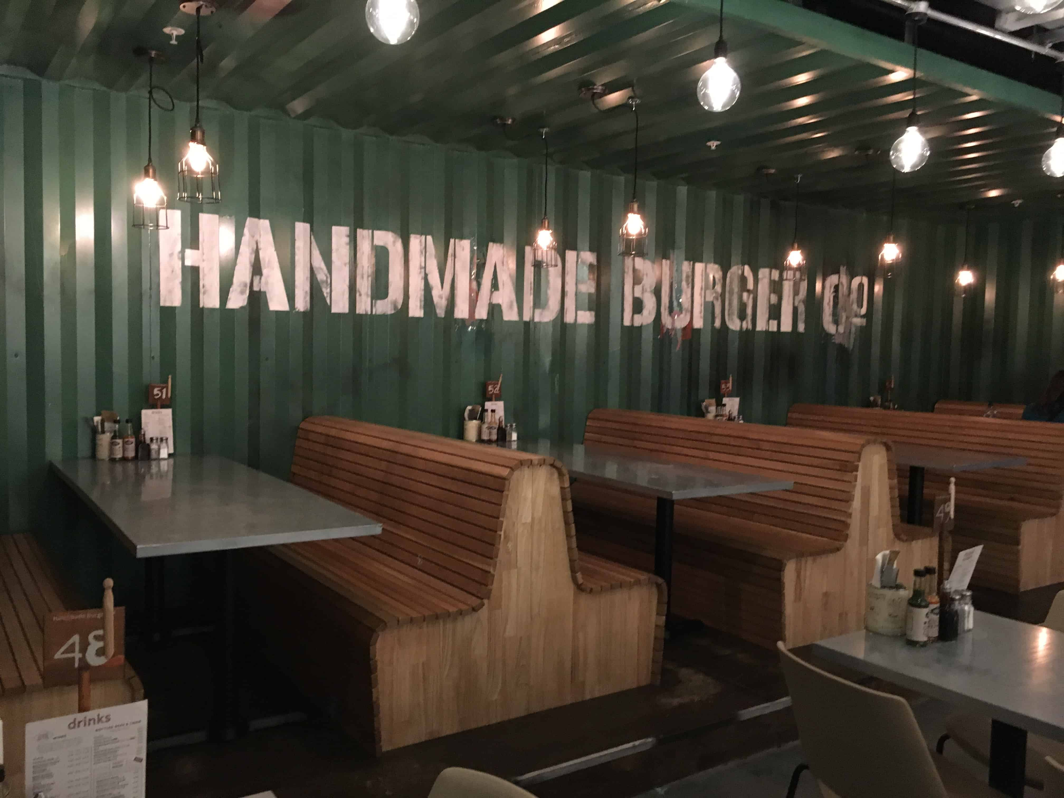 Handmade Burger Co Grand Central Birmingham
