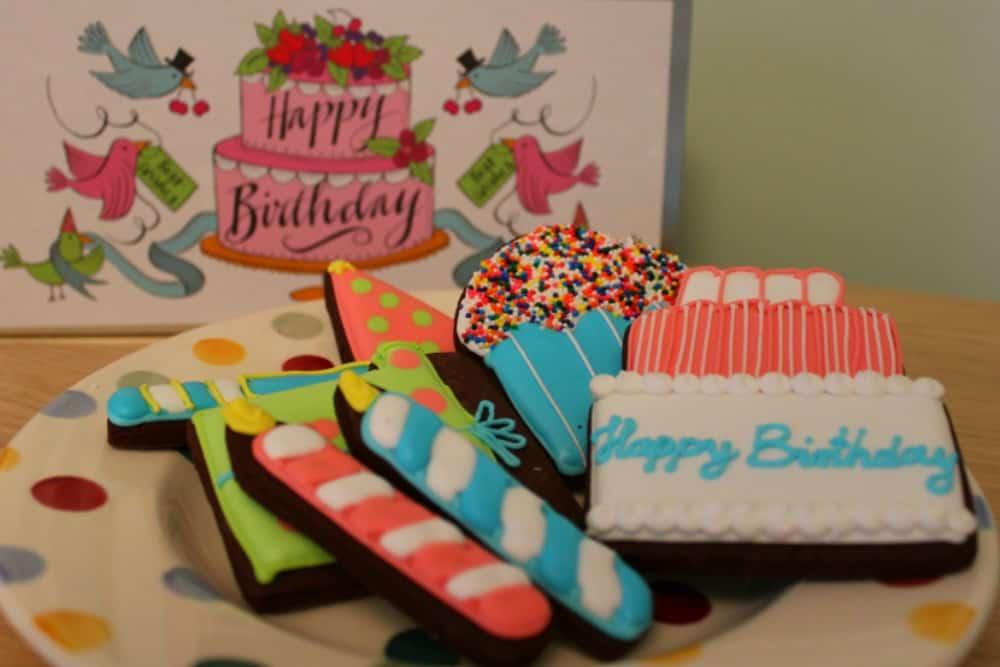 Biscuiteers Birthday Biscuits