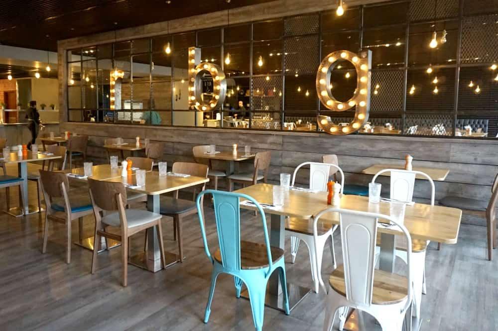 Park Inn Heathrow hotel RBG restaurant