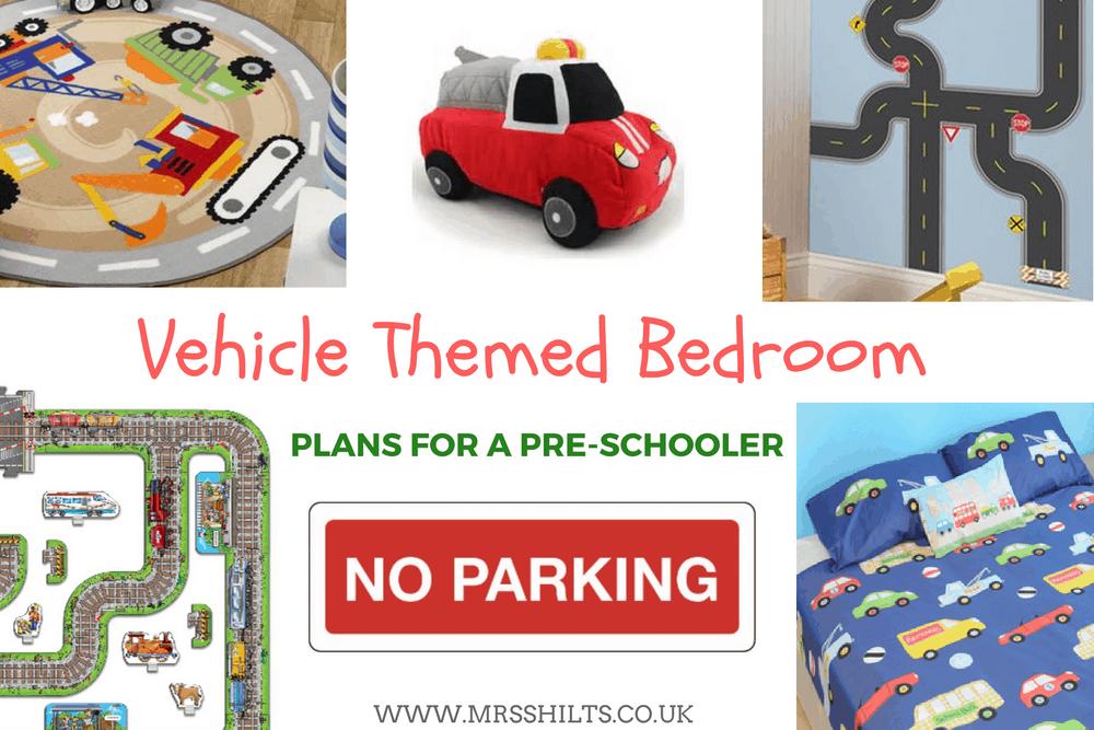 Vehicle Themed bedroom