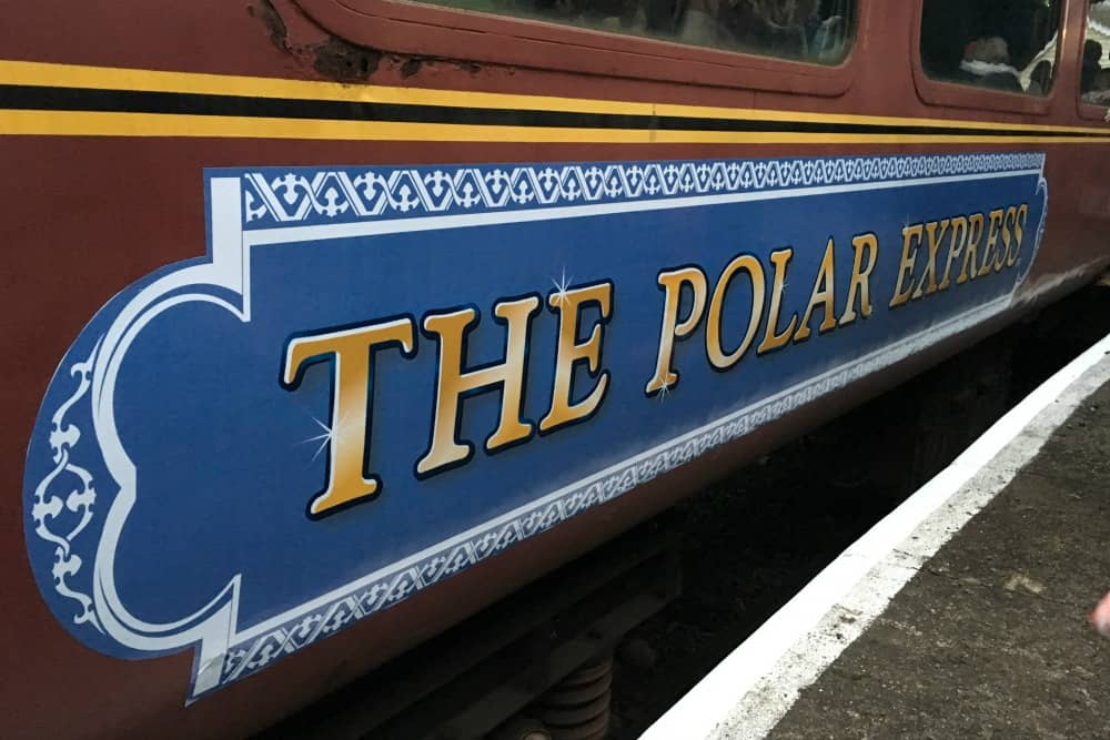 The Polar Express Telford Steam Railway