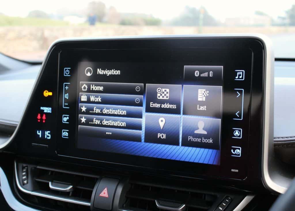 Toyota C-HR Toyota Touch 2 Go Navigation System