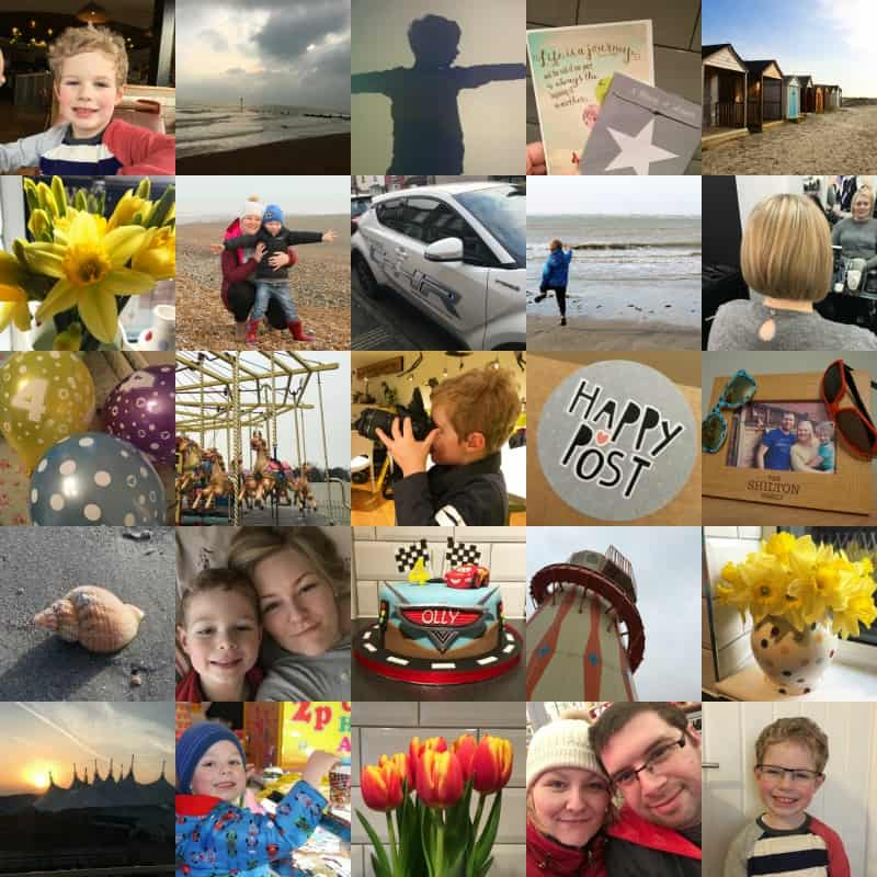 Me and Mine February 2017 collage