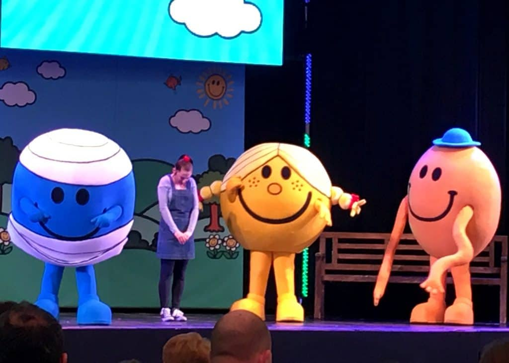 Mr Men Little Miss Live On Stage Butlin's Bognor Regis
