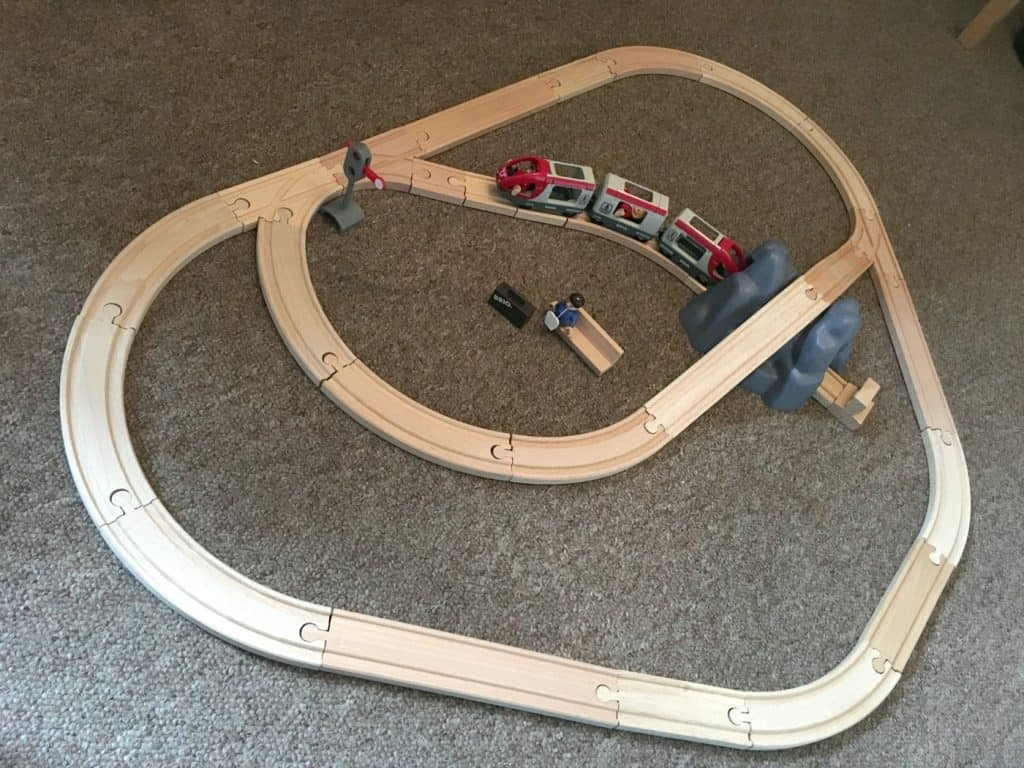 BRIO Starter Set Track Set