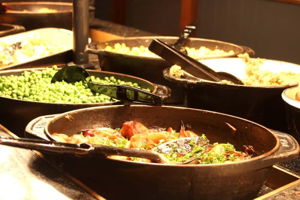 Vegetables at The Crown, Kings Heath