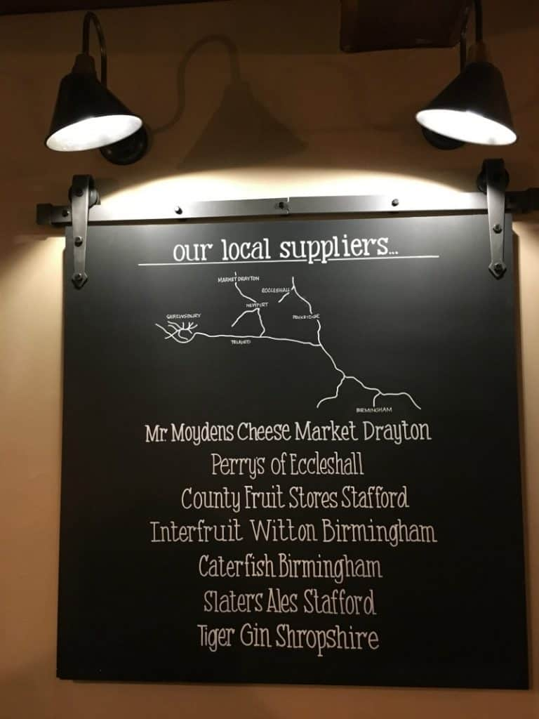 local suppliers