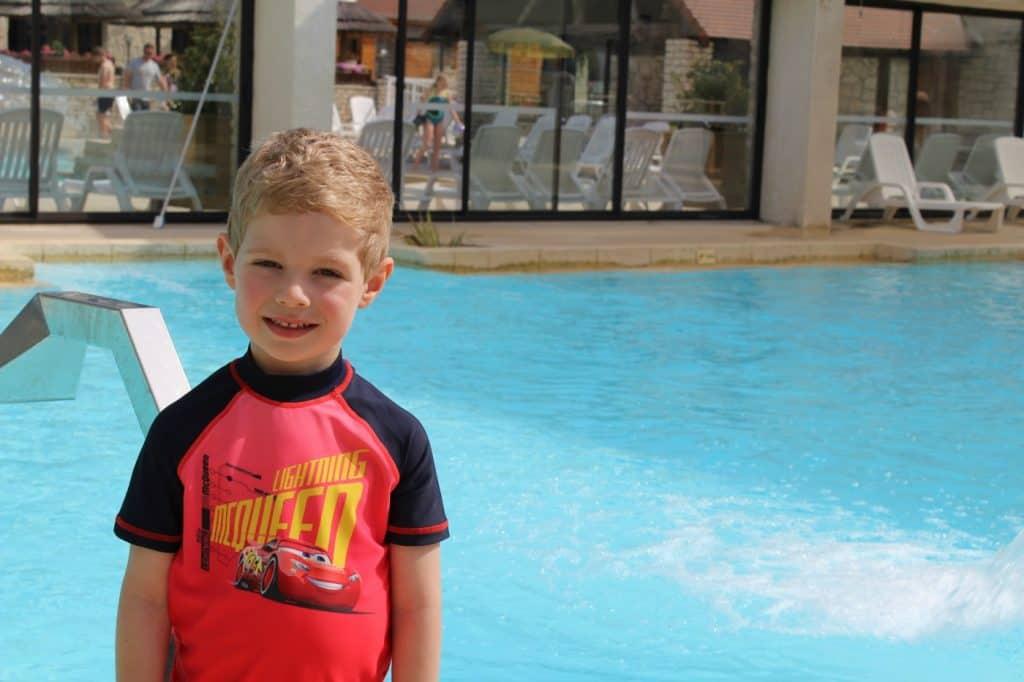 Camping la Croix du Vieux Pont Swimming Pool