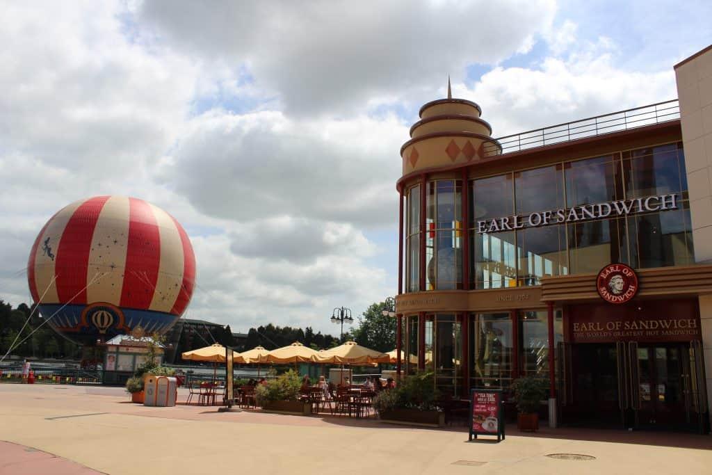 Earl of Sandwich Disneyland Paris