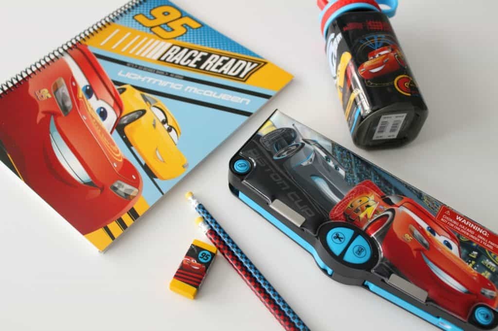 Disney Pixar Cars 3 back to school