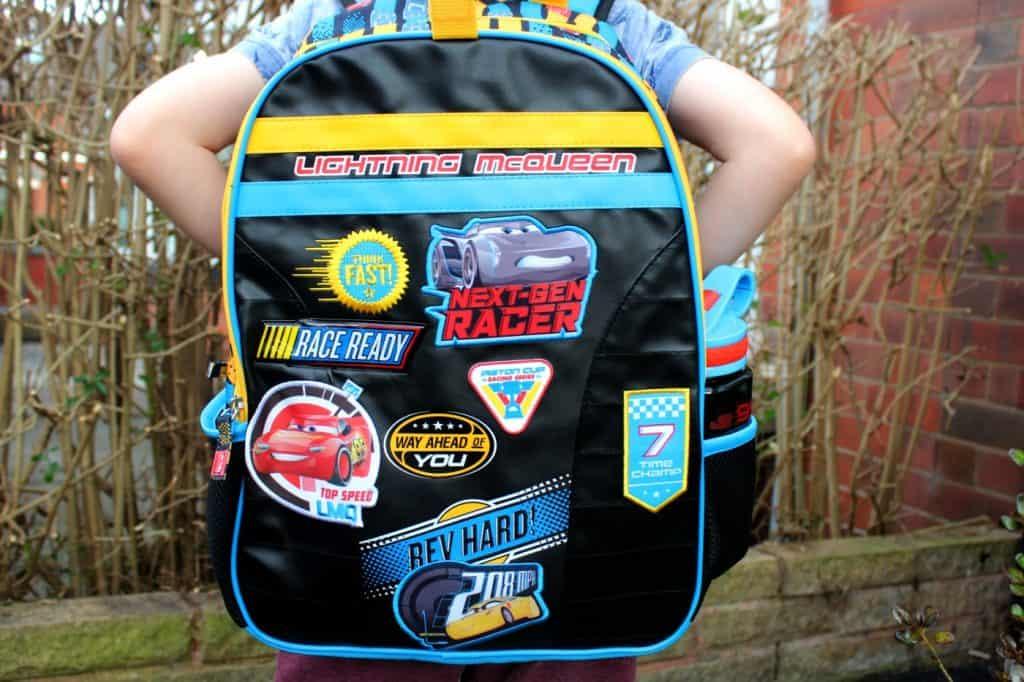 Disney Pixar Cars 3 backpack