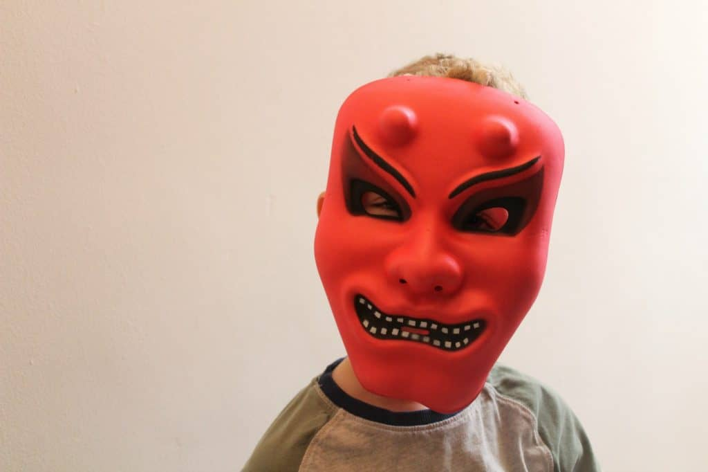Poundworld Halloween Scary mask