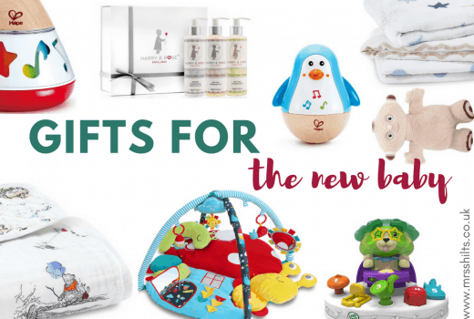 Christmas gifts for new baby