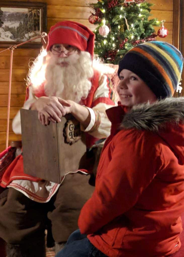 LaplandUK Christmas Magic Father Christmas Smile