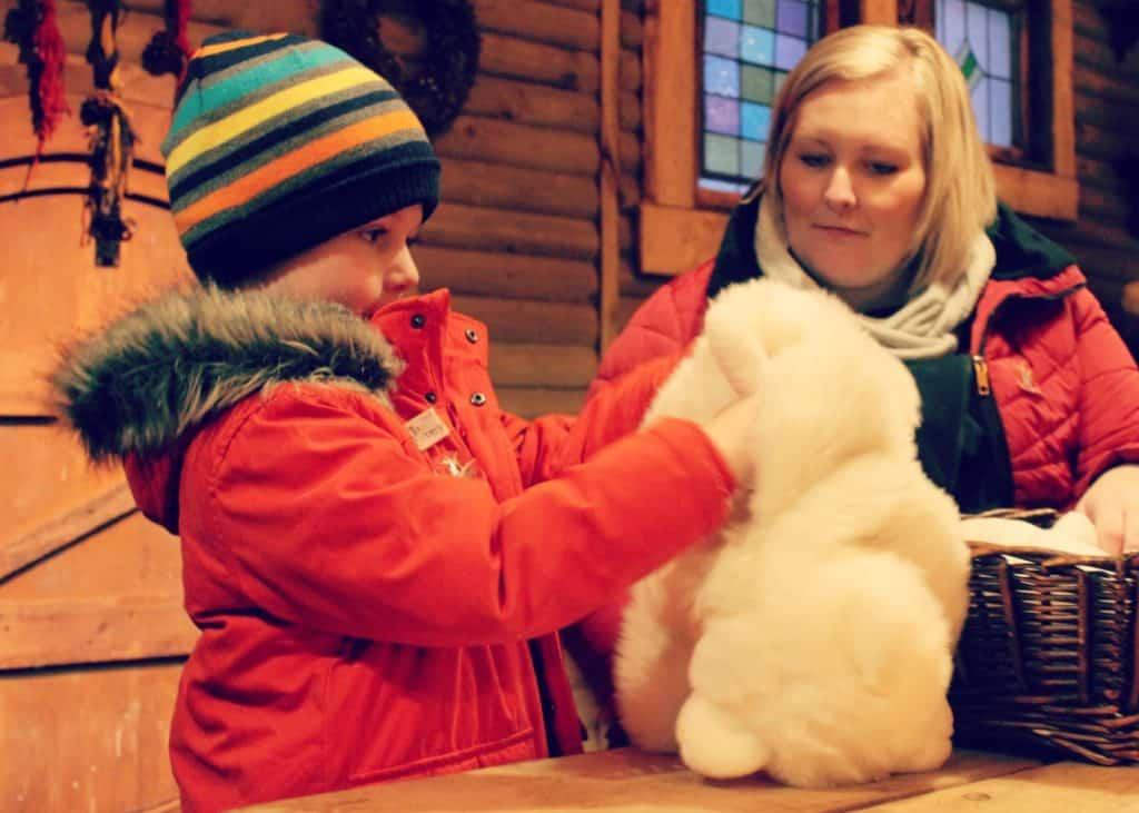 LaplandUK Toy Factory Polar Bears