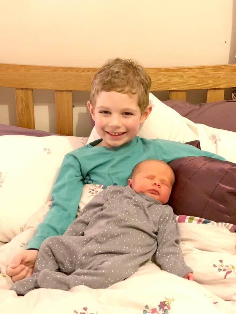 Olly Freddie Siblings January 2018